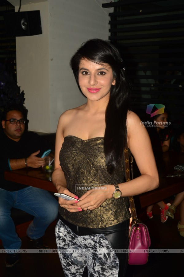 Roop Durgapal poses for the camera at India-Forums 11th Anniversary Bash