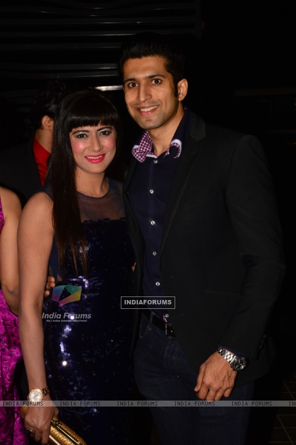 Poonam Thakkar and Vijay Thakkar at India-Forums 11th Anniversary Bash
