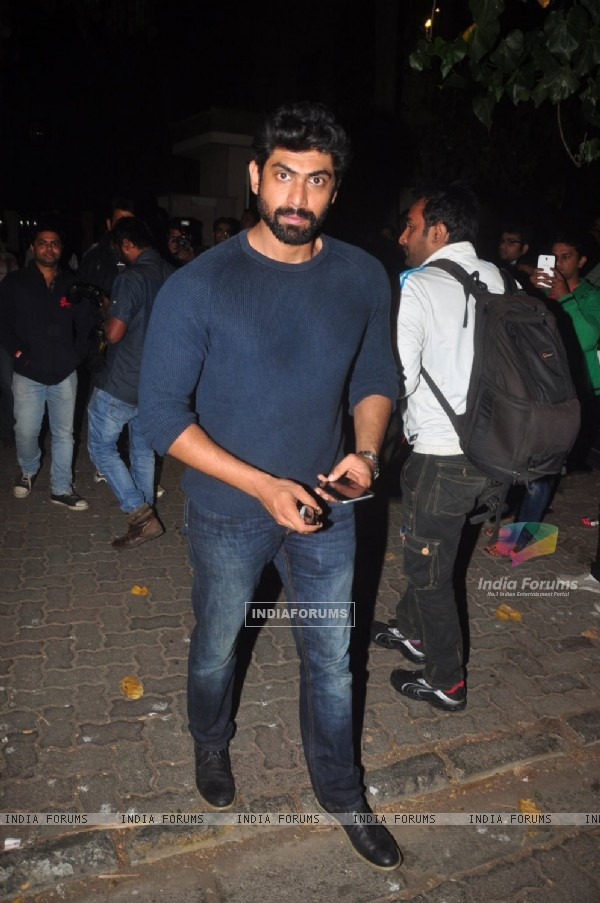 Rana Daggubati at the Success Bash of P.K.