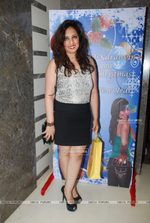 Munisha Khatwani at Karanvir And Teejay's House Warming Party