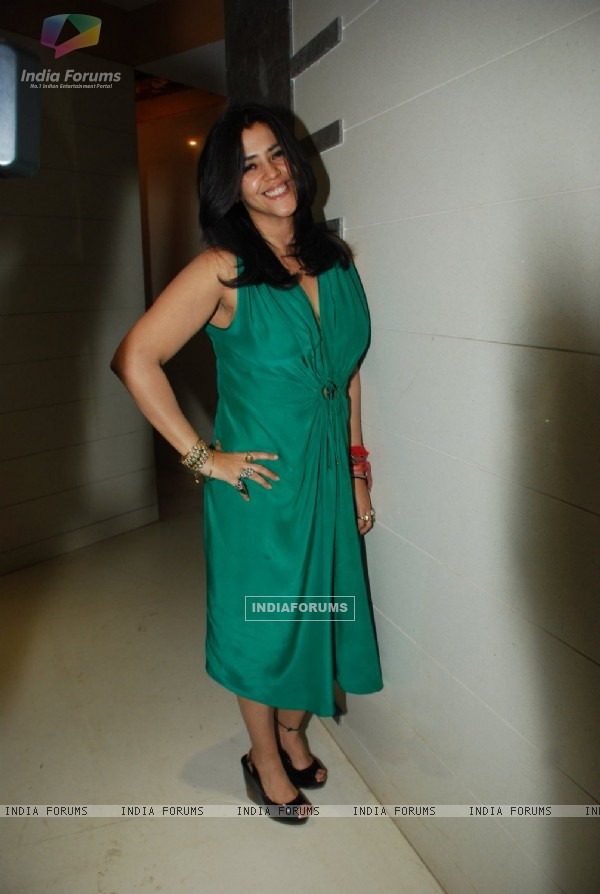 Ekta Kapoor was at Karanvir And Teejay's House Warming Party