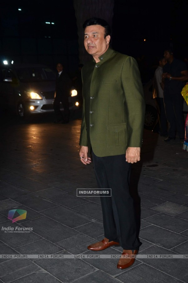 Anu Malik was seen at Uday Singh and Shirin's Reception Party