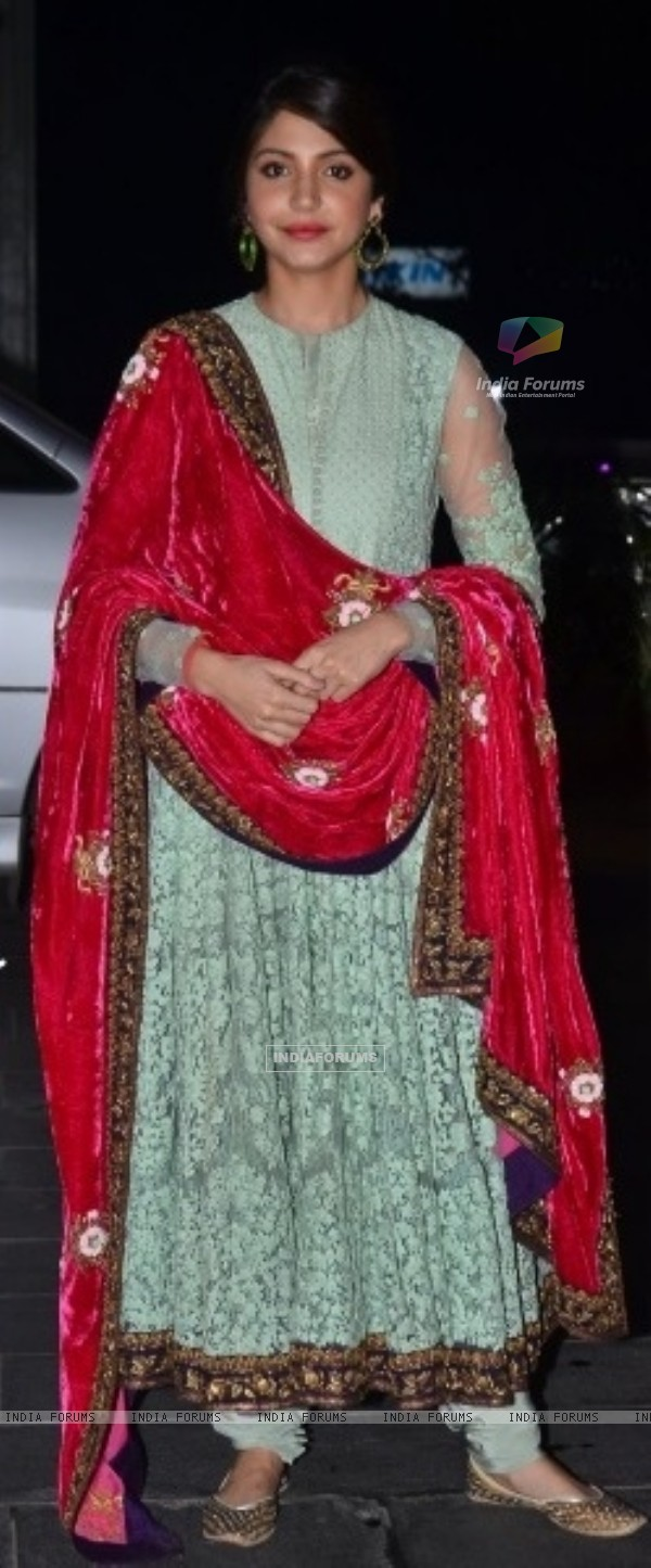 Anushka Sharma at Uday Singh and Shirin's Reception Party