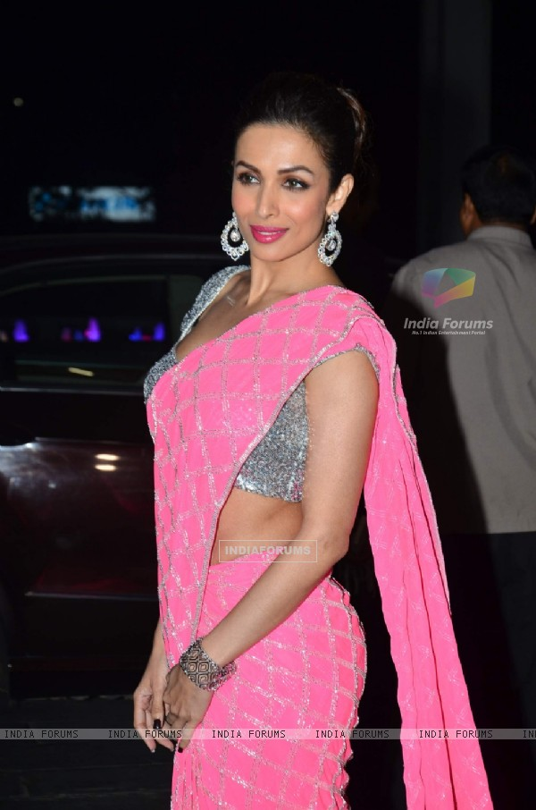 Malaika Arora Khan was at Uday Singh and Shirin's Reception Party