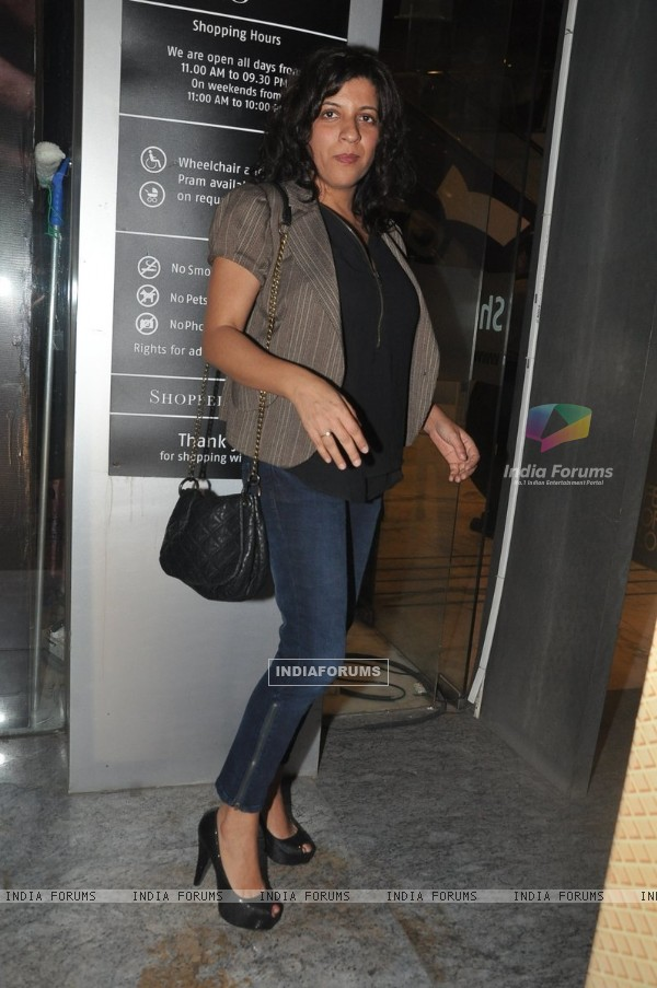 Zoya Akhtar were seen at the Premier of Ugly