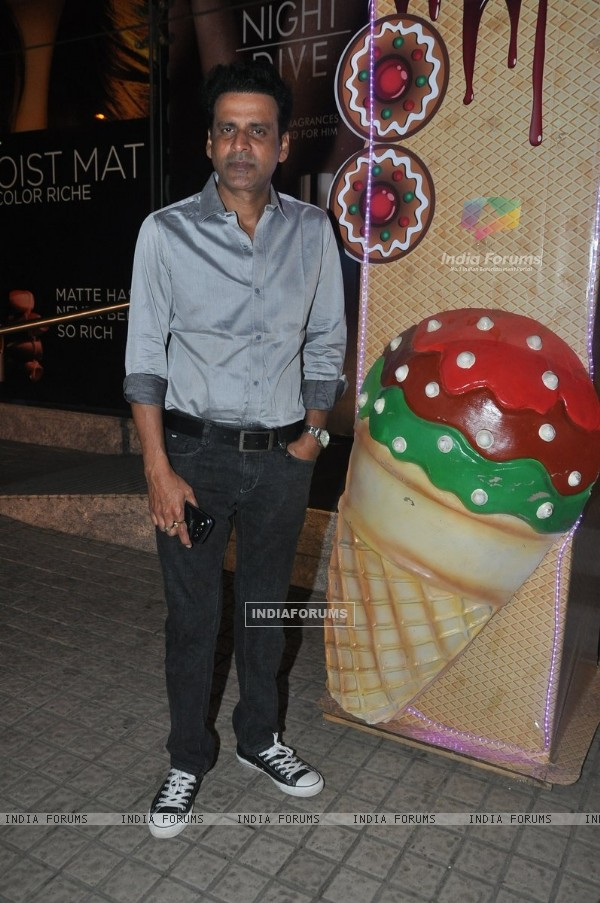 Manoj Bajpai was at the Premier of Ugly