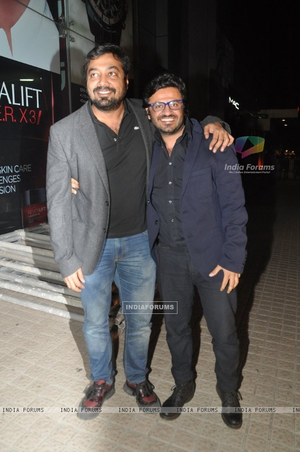 Anurag Kashyap & Vikas Bahl at the Premier of Ugly