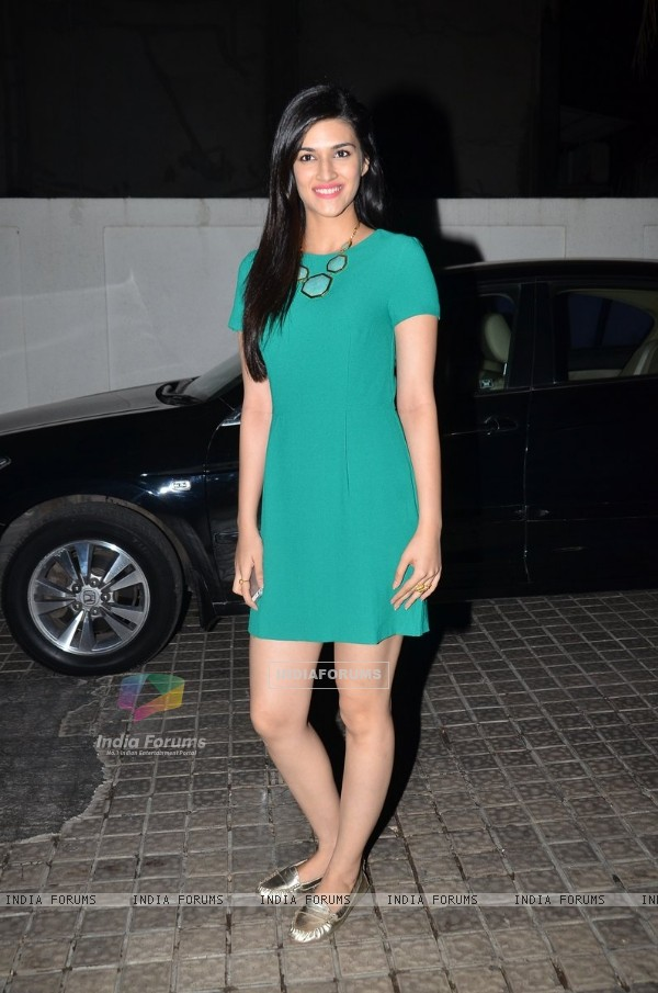 Kriti Sanon at the Premier of Ugly