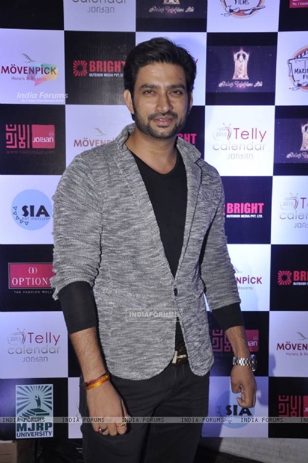 Aadesh Chaudhry was at Telly Calendar Launch