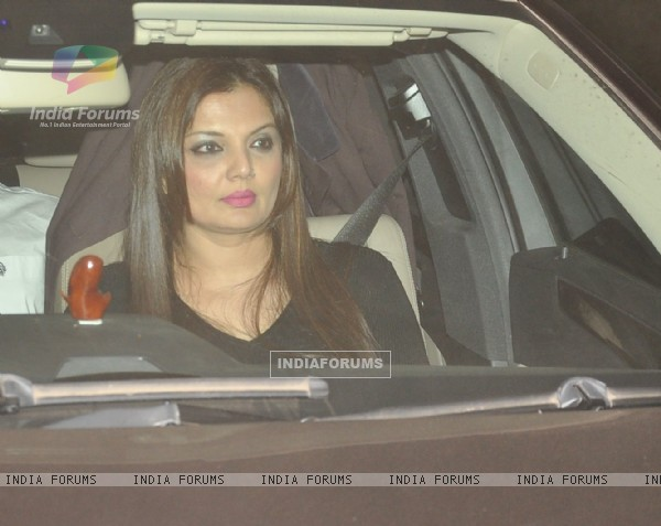 Deepshikha Nagpal was snapped at Salman Khan's Birthday Bash