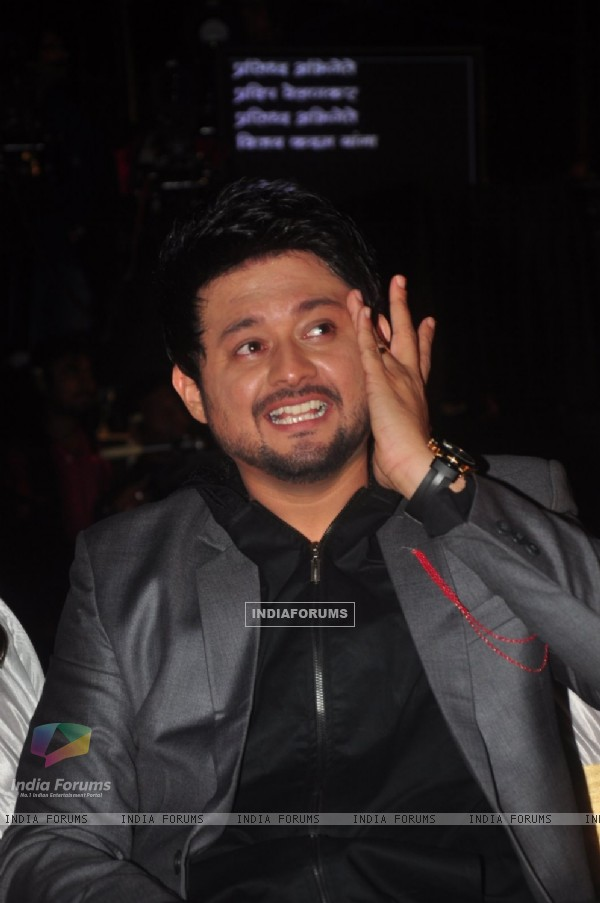 Swapnil Joshi was snapped at Dadasaheb Phalke Marathi Awards