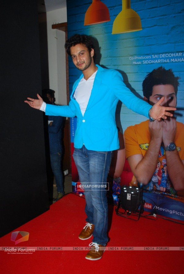 Adinath Kothare poses for the media at the Music Launch of Sata Lota Pan Sagla Khota