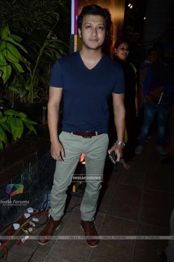 Arjun Punj poses for the media at Charan Singh's Lohri Celebration