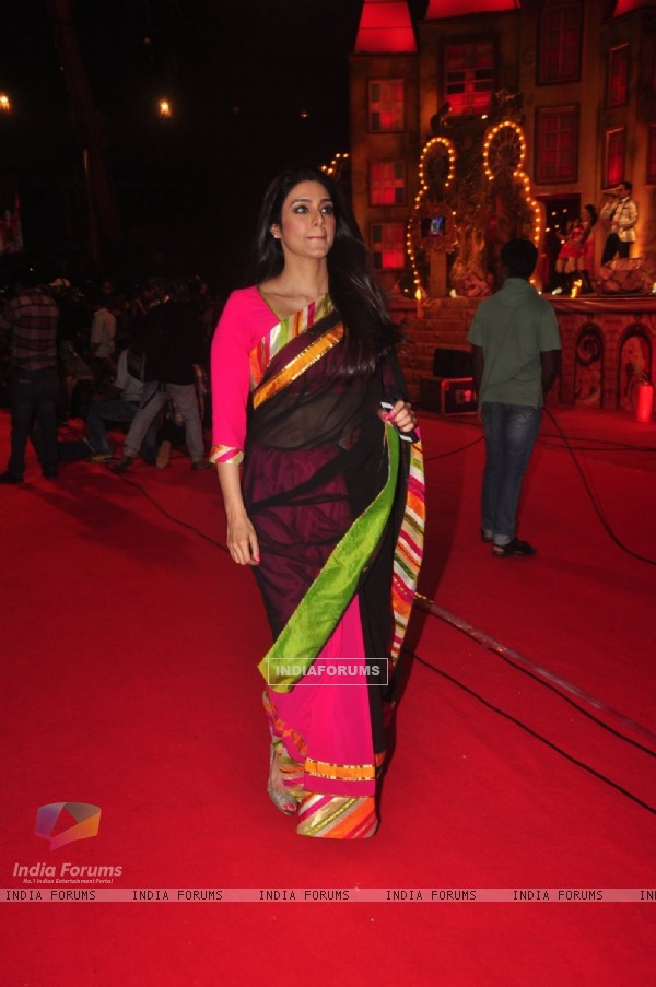 Tabu was snapped at Umang Police Show