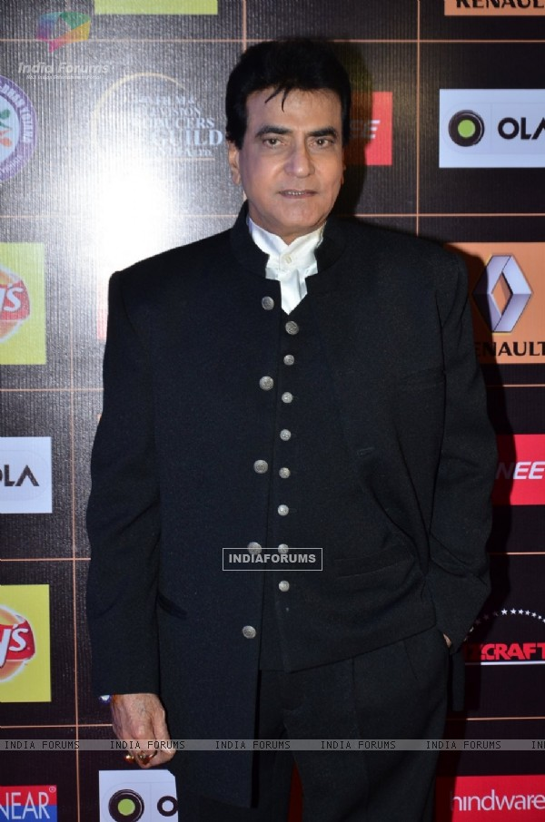 Jeetendra at the Star Guild Awards