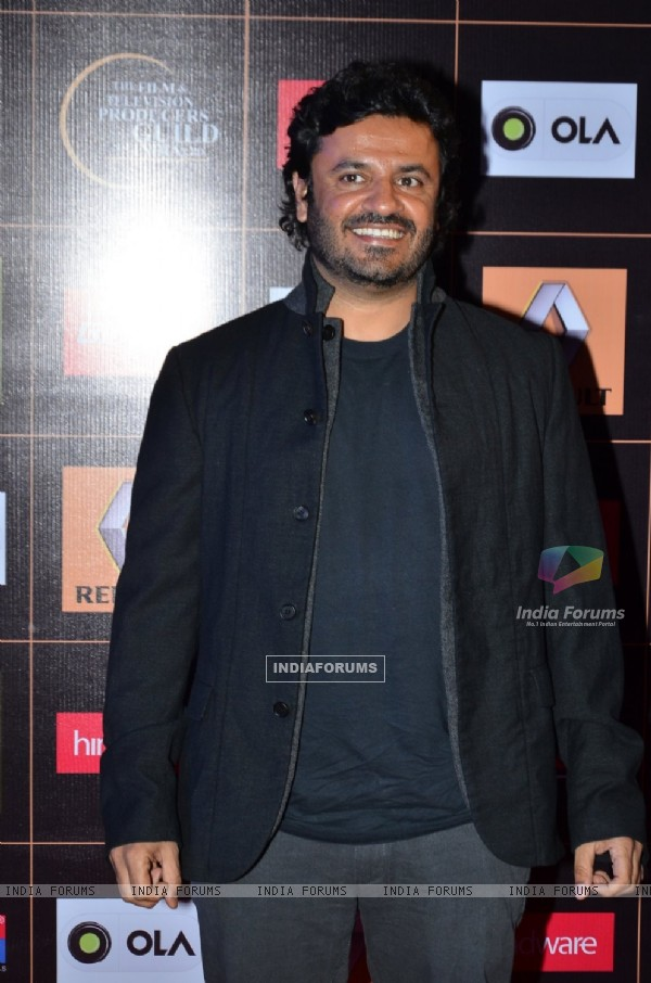 Vikas Bahl at the Satr Guild Awards