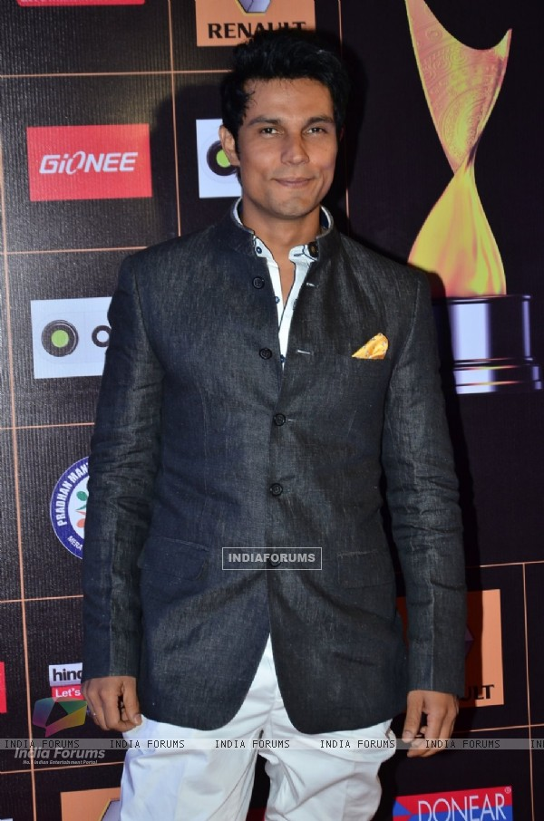 Randeep Hooda was seen at the Guild Awards