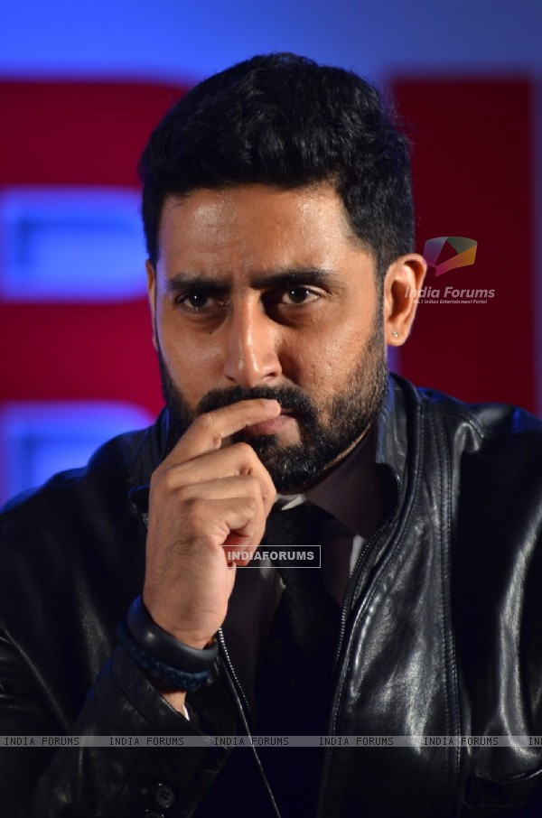 Abhishek Bachchan was snapped at the Launch of Hera Pheri 3