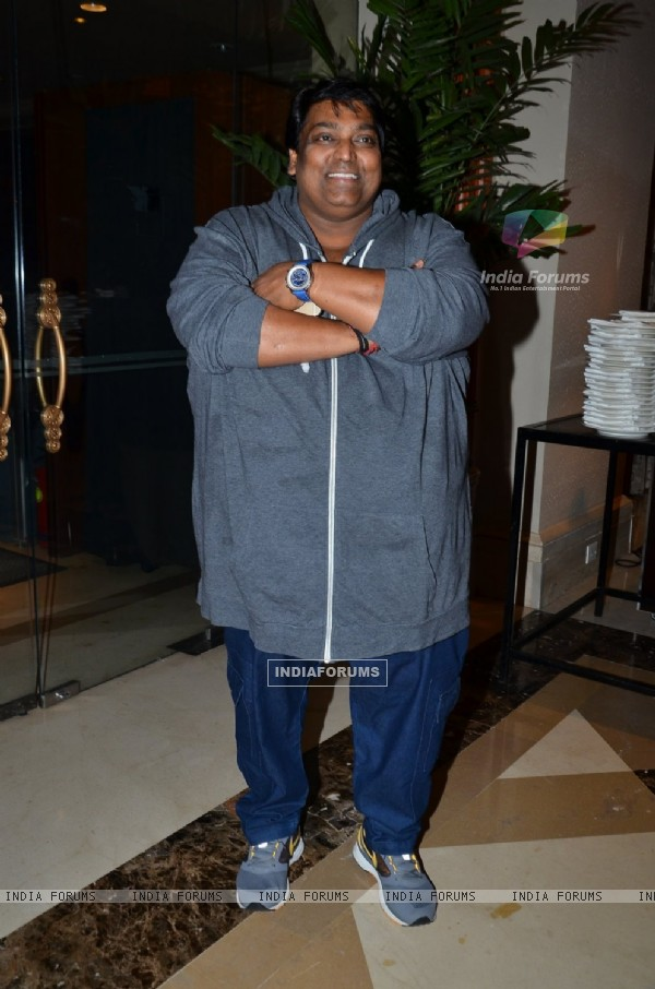 Ganesh Acharya poses for the media at the Launch of Hera Pheri 3