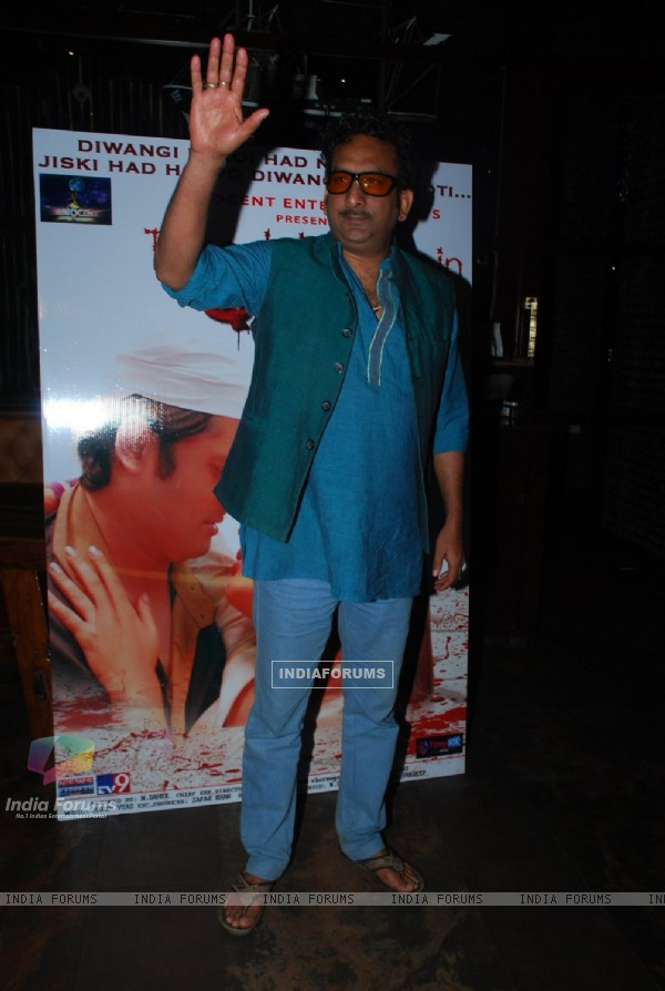 Hemant Pandey poses for the media at the Music Launch of Tere Ishq Mein Qurban