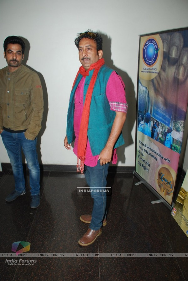 Hemant Pandey poses for the media at the Promotions of Hey Bro