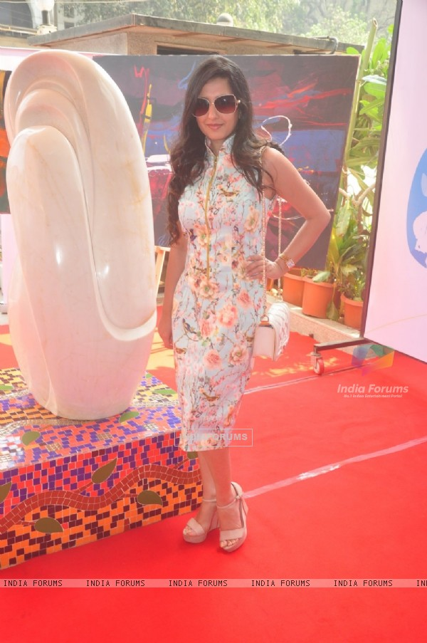 Amy Billimoria at Rouble Nagi's Art Sculpture Launch