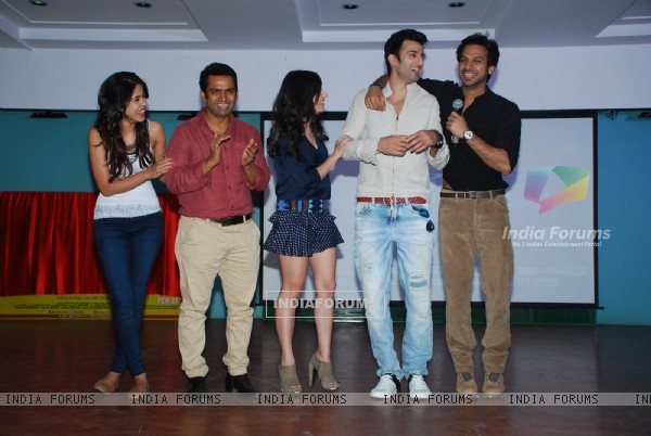 Team was snapped enjoying at the Launch of Badmashiyaan at Cortokino Festival