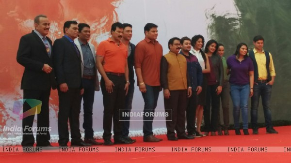 Team of CID at Jashn-e-CID