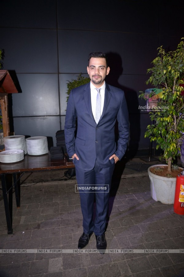 Cyrus Sahukar poses for the media at GoodHomes Awards 2014