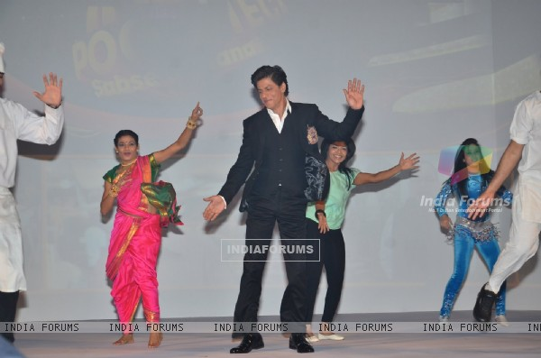 Shah Rukh Khan performs at the Launch of '& TV'
