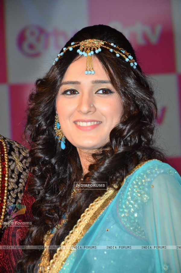Pankhuri Awasthy poses for the media at the Launch of '& TV'