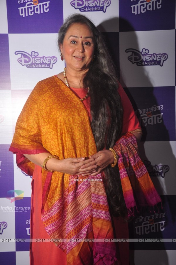 Farida Dadi poses for the media at the Launch of Maan Na Maan Main Tera Mehman