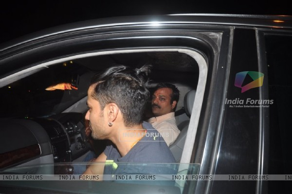 Kunal Khemu was snapped at Soha Ali Khan's Mehendi Ceremony