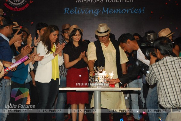 Subhash Ghai cuts his Birthday Cake at his Birthday Bash