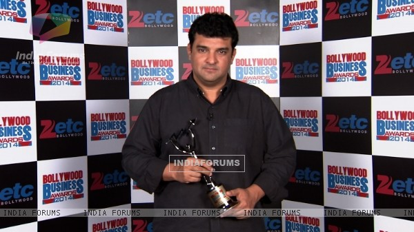 Siddharth Roy Kapur at Zee ETC Bollywood Business Awards 2014