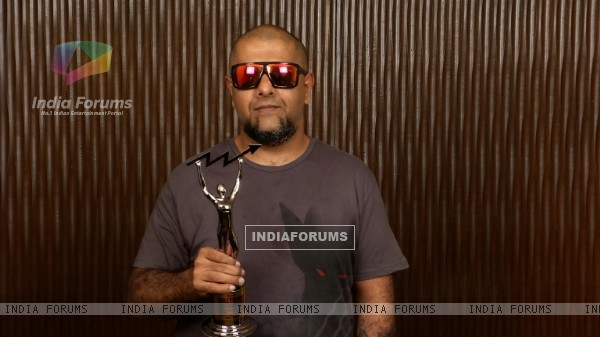 Vishal Dadlani at Zee ETC Bollywood Business Awards 2014