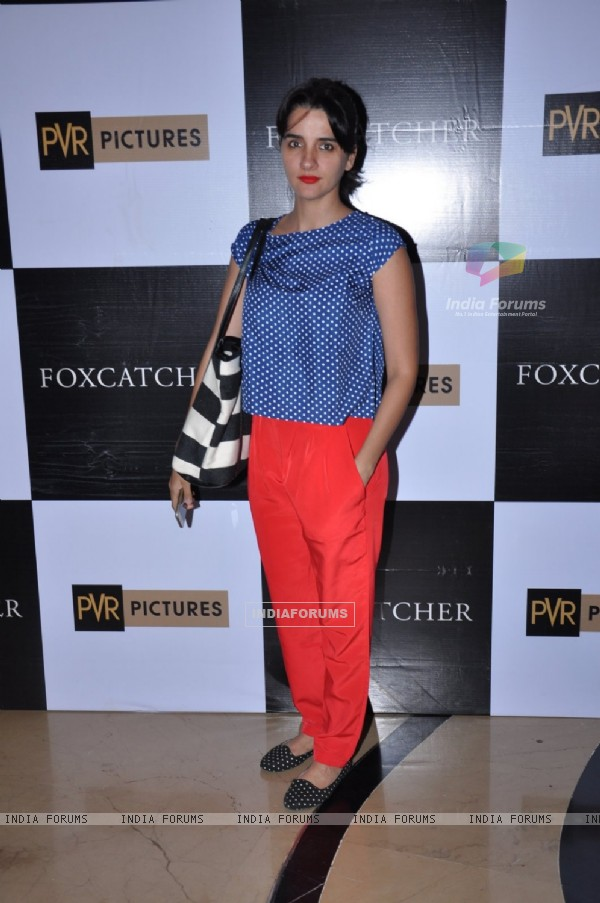 Shruti Seth was seen at the Premiere of Foxcatcher