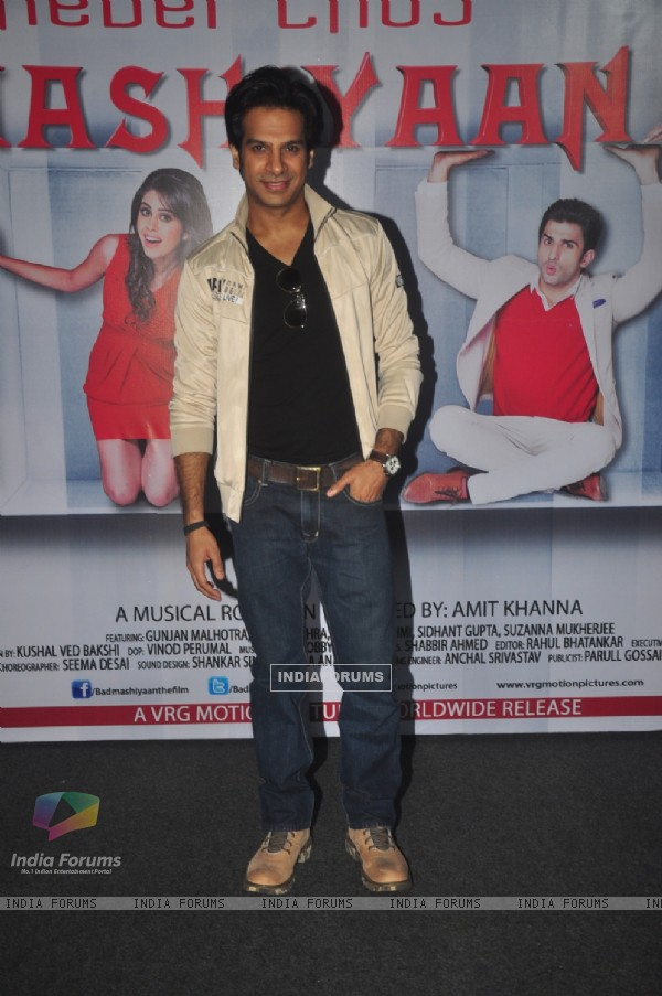 Karan Mehra at the Trailer Launch of Badmashiyaan