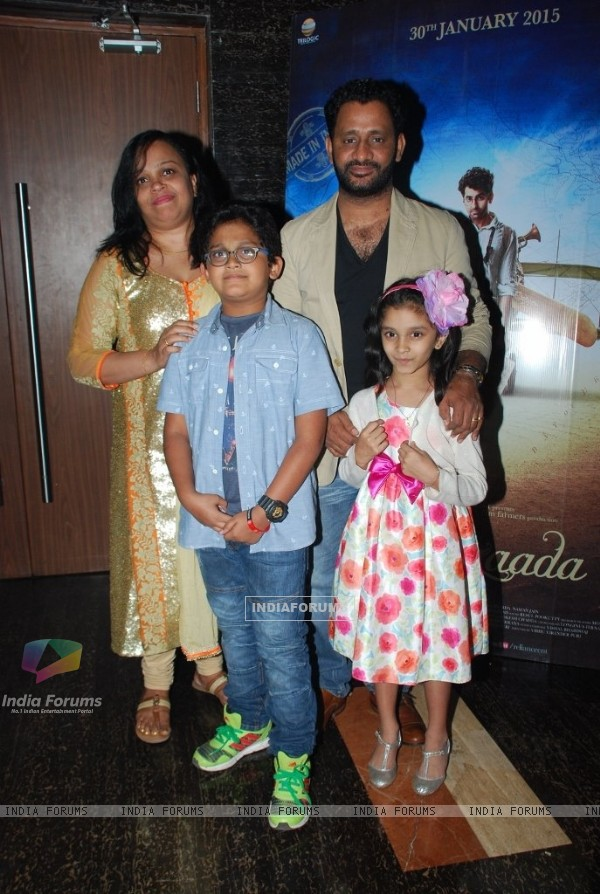 Resul Pookutty at the Special Screening of Hawaizaada