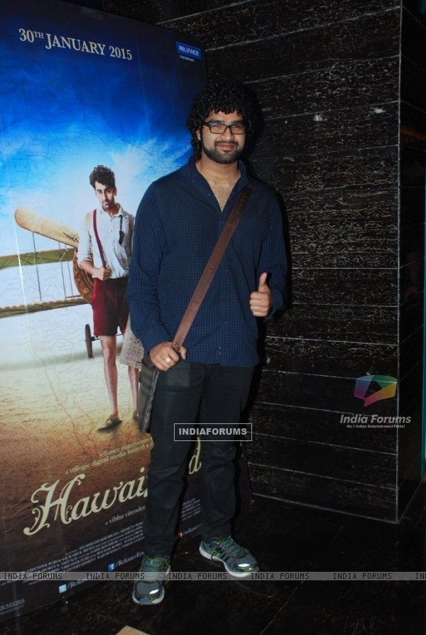 Siddharth Mahadevan at the Special Screening of Hawaizaada