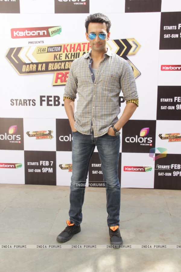Nandish Sandhu at the Launch of Khatron Ke Khiladi - Darr Ka Blockbuster Returns