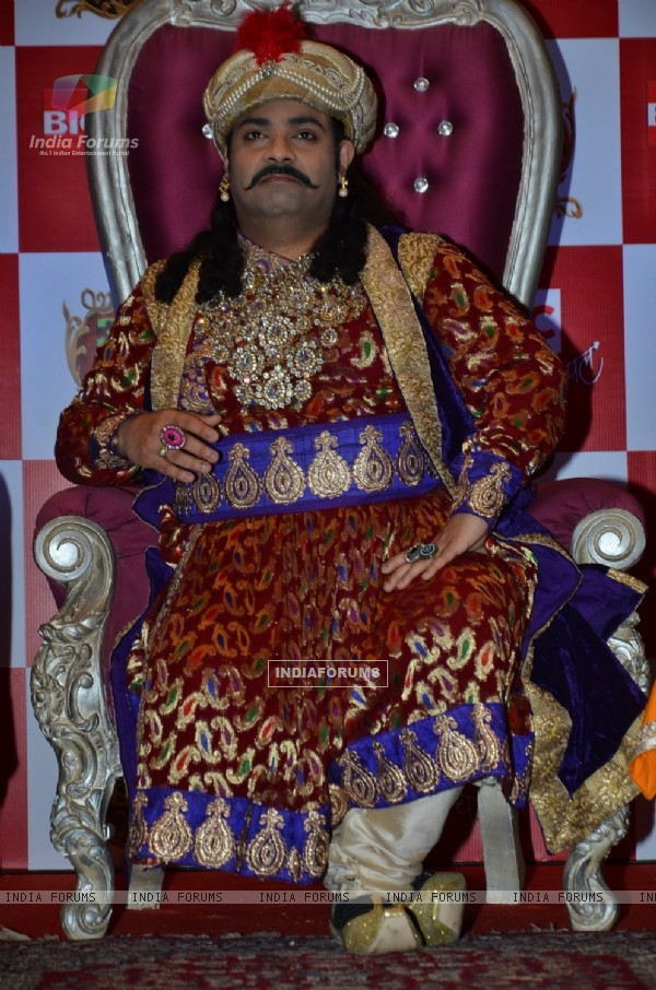 Kiku Sharda at the Launch of Akbar Birbal