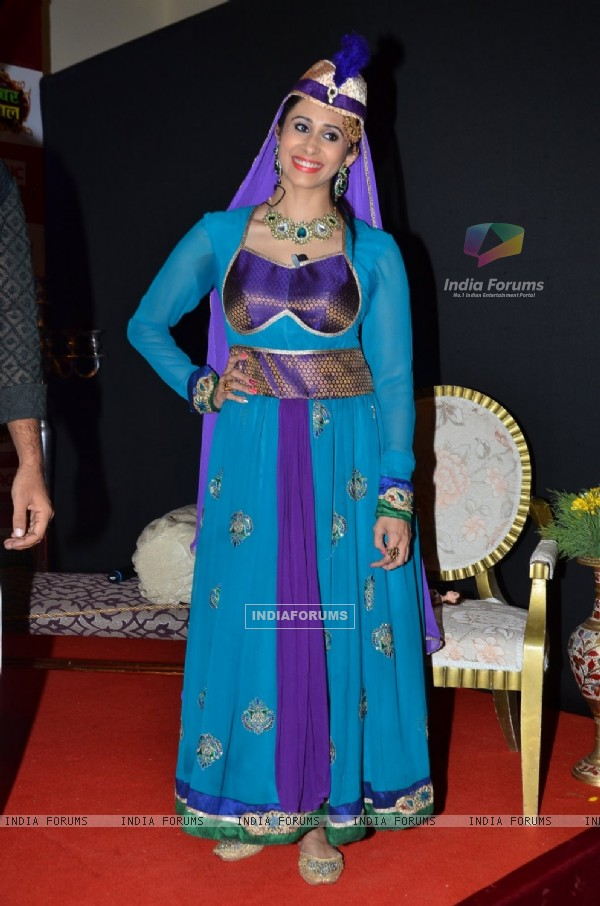 Kishwer Merchantt was at the Launch of Akbar Birbal