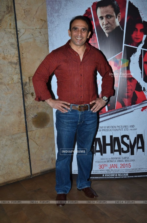Bikramjeet Kanwarpal was at the Special Screening of Rahasya