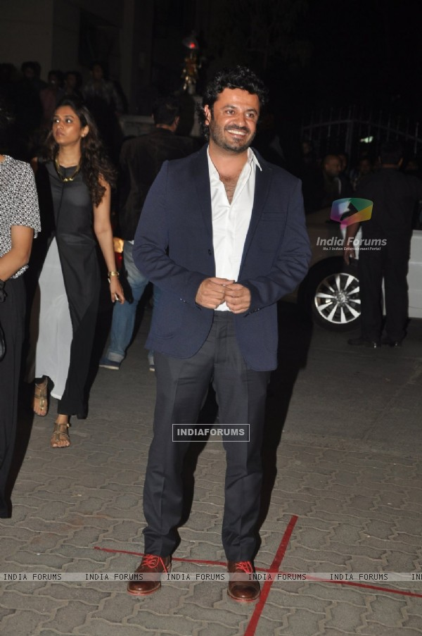Vikas Bahl at 60th Britannia Filmfare Awards