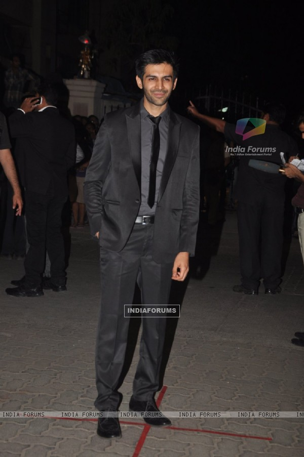 Kartik Tiwari at the 60th Britannia Filmfare Awards