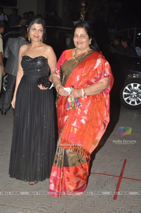 Anuradha Paudwal was at the 60th Britannia Filmfare Awards