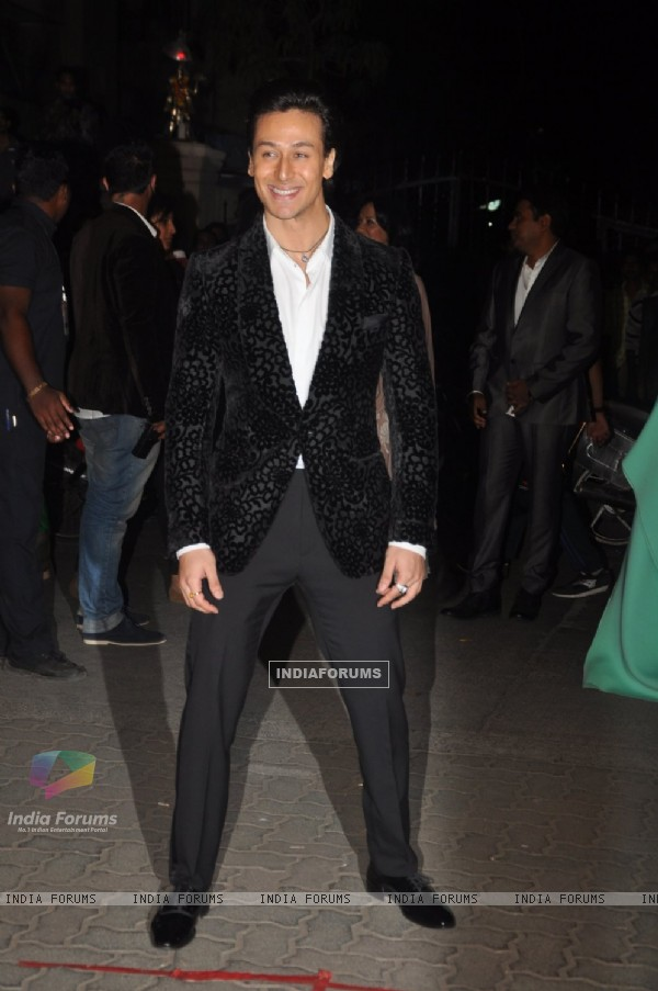 Tiger Shroff was seen at the 60th Britannia Filmfare Awards