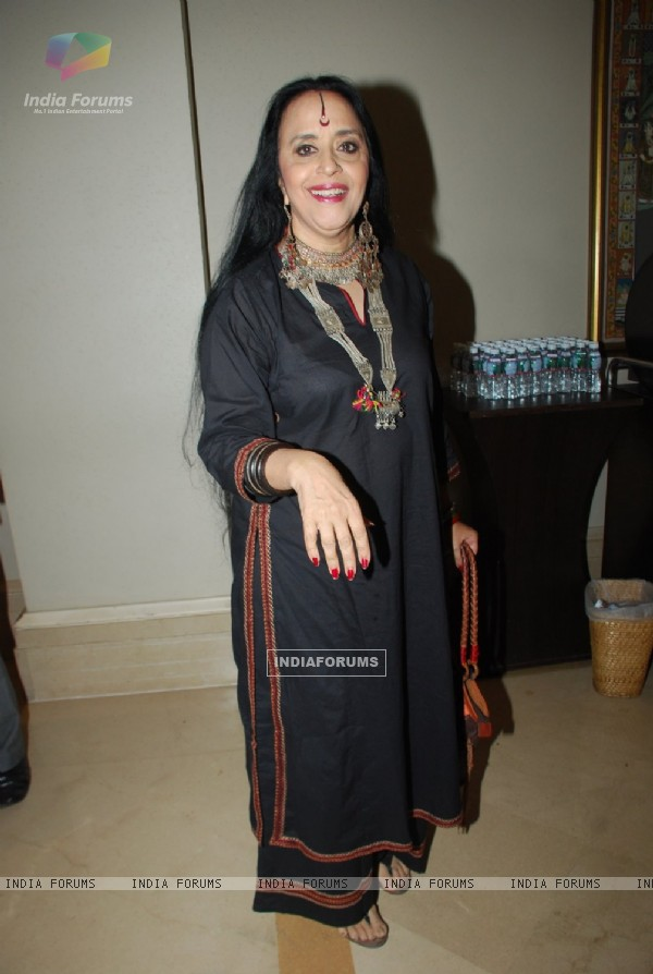 Ila Arun poses for the media at Radio Mirchi Awards Jury Meet