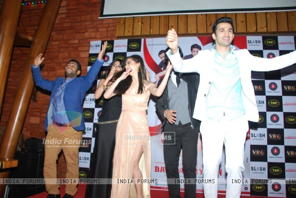 The cast of the film performs at the Music Launch of Badmashiyaan